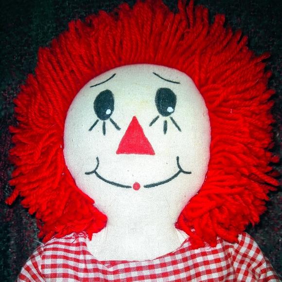Vintage Rag doll (Raggedy Ann)